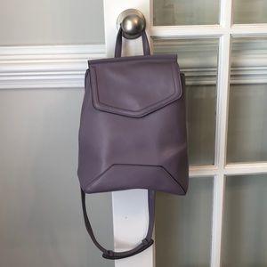 Small Light Purple Backpack Purse